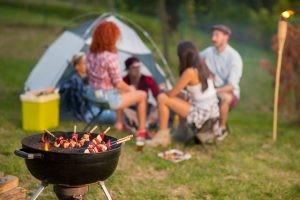 How To BBQ And Grill While Camping