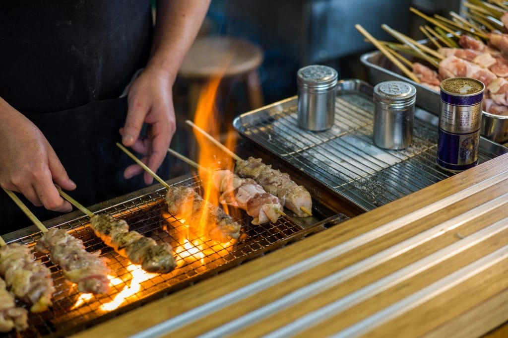 Jakitori Japanese BBQ