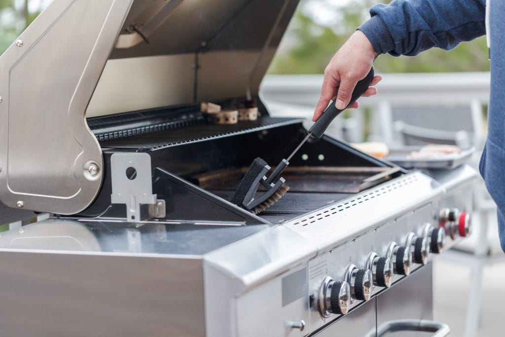 Cleaning Gas Grill
