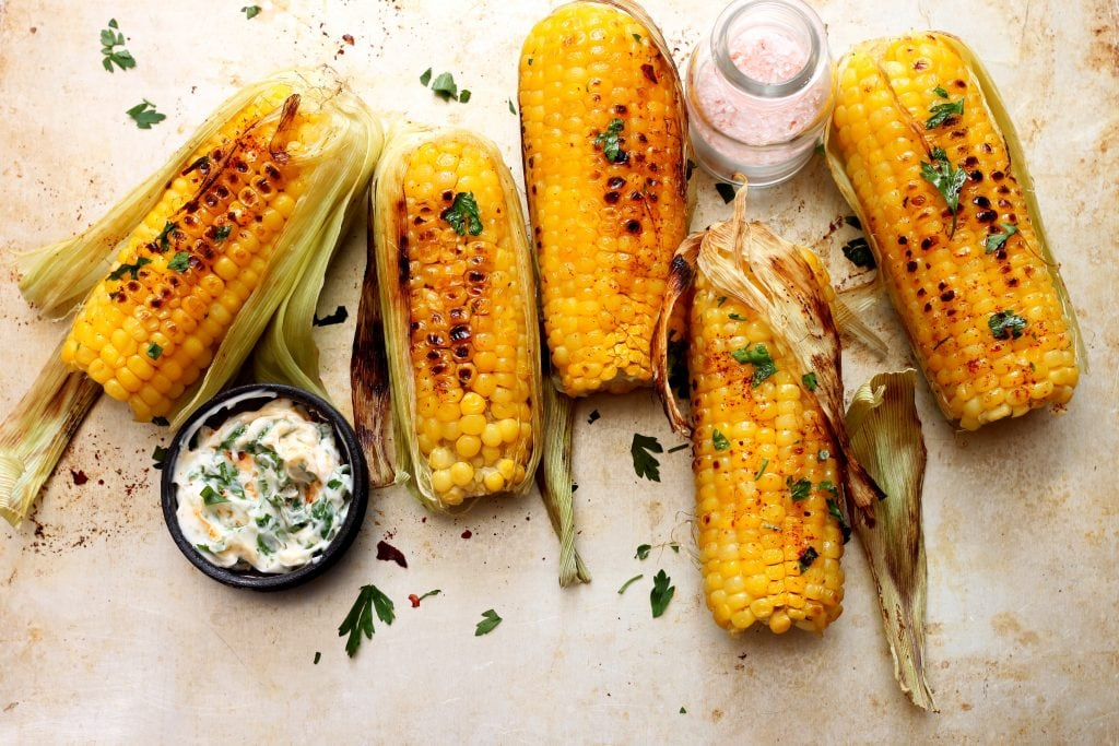 One of the best BBQ side dishes Grilled Corn
