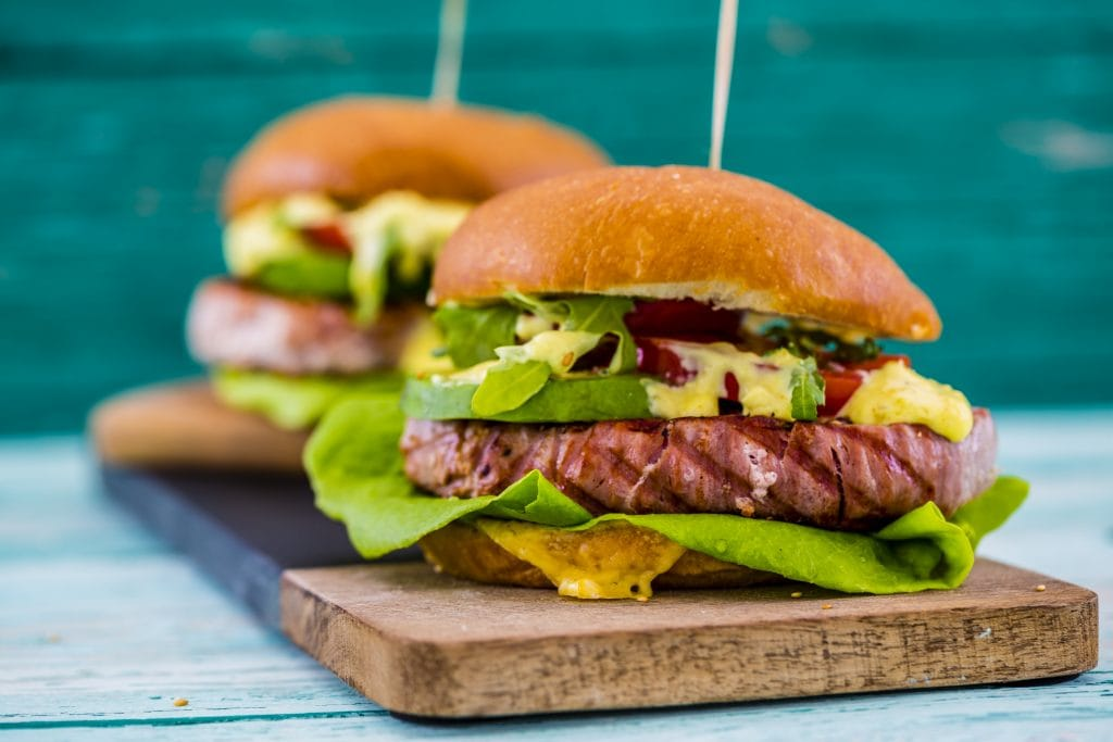 How to Grill Tuna Burgers